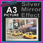 NEW YORK YELLOW TAXI ALUMINIUM PRINTED PICTURE SPECIAL EFFECT PRINT NOT CANVAS